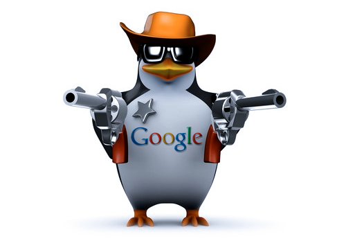 עדכון פינגווין של גוגל