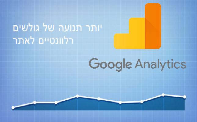חמשת הנתונים השימושיים ביותר של גוגל אנליטיקס